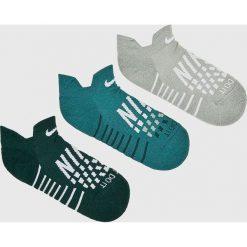 Nike - Skarpetki (3-pack). Szare skarpetki damskie marki Nike. W wyprzedaży za 49,90 zł.