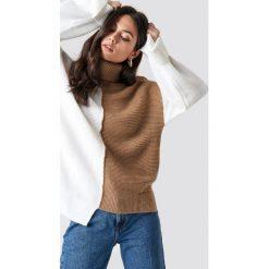 Odzież: Trendyol Kolorowy sweter - White,Beige