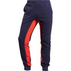 Spodnie dresowe męskie: Ron Dorff SIDE STRIPES Spodnie treningowe navy/orange