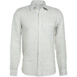 Koszule męskie na spinki: 120% Lino CAMICIA UOMO Koszula light grey