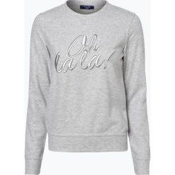 Bluzy damskie: Aygill's Denim - Damska bluza nierozpinana, szary