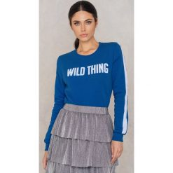 Bluzy damskie: Colourful Rebel Bluza Wild Thing - Blue