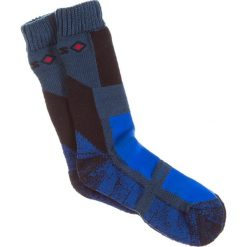 Skarpetki damskie: Skarpetki w kolorze niebiesko-czarno-antracytowym