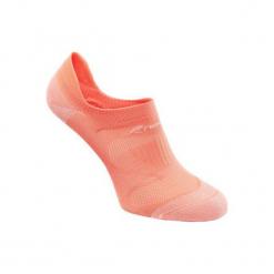 Skarpety do marszu sportowego WS 500 Fresh koralowe. Brązowe skarpetki męskie marki NEWFEEL, z elastanu. Za 14,99 zł.
