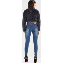 Lost Ink MID RISE SKINNY Jeans Skinny Fit denim. Niebieskie rurki damskie Lost Ink. Za 169,00 zł.