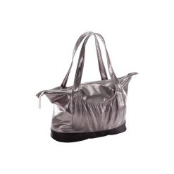 Torba do tańca. Czarne torby podróżne marki DOMYOS, z materiału, duże. Za 79,99 zł.