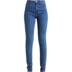 Lee SCARLETT HIGH Jeans Skinny Fit buzz blue. Niebieskie rurki damskie Lee. Za 299,00 zł.