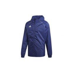 Kurtki wiatrówki adidas  Kurtka przeciwdeszczowa Core 18. Niebieskie kurtki męskie bomber Adidas, l. Za 149,00 zł.