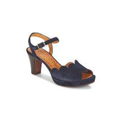 Sandały Chie Mihara  UNDIA. Niebieskie sandały damskie Chie Mihara. Za 959,20 zł.