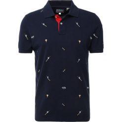 GANT WINNER RUGGER Koszulka polo evening blue. Niebieskie koszulki polo marki GANT. Za 669,00 zł.