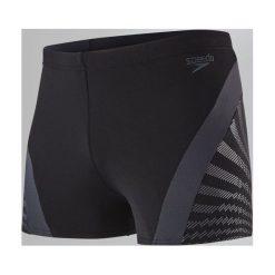 Kąpielówki męskie: Speedo Kąpielówki męskie Chevron Splice Aquashort Black/Grey r. 38 (8113489023)
