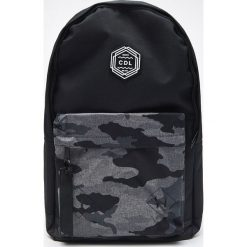 bd1eb2235775e Plecak z kieszenią - Szary. Szare plecaki męskie Cropp, bez wzorów. W  wyprzedaży ...