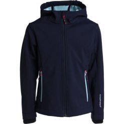 CMP GIRL JACKET FIX HOOD Kurtka z polaru dark blue/mint. Niebieskie kurtki dziewczęce sportowe marki CMP, z elastanu. W wyprzedaży za 152,10 zł.