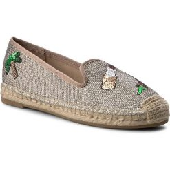 Tomsy damskie: Espadryle GUESS - Greace FLGRC2 FAM14 GOLD