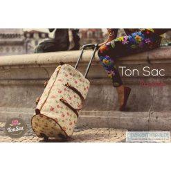 Torby podróżne: Torba podróżna na kółkach - Ton Sac 'Rosette'