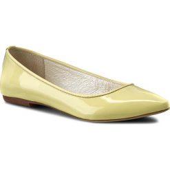 Baleriny R.POLAŃSKI - 0727 Limonka Lakier. Żółte baleriny damskie lakierowane marki R.Polański, z lakierowanej skóry. W wyprzedaży za 179,00 zł.