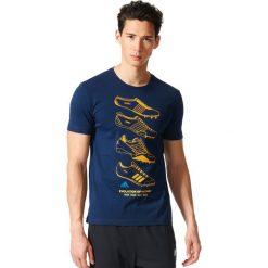 Adidas Koszulka męska FTW History granatowa r. S (AY7206). Czarne koszulki sportowe męskie Adidas, m. Za 84,66 zł.