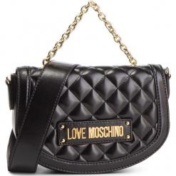 Torebka LOVE MOSCHINO - JC4002PP17LA0000 Nero. Czarne torebki klasyczne damskie marki Love Moschino, ze skóry ekologicznej. Za 779,00 zł.