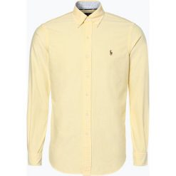 Koszule męskie na spinki: Polo Ralph Lauren – Koszula męska, żółty