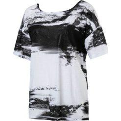 Bluzki asymetryczne: Puma Koszulka damska Dancer Drapey Tee czarno biała r. M (515721 07)
