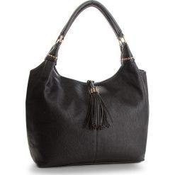 Torebka JENNY FAIRY - RC15270A Black. Czarne torebki klasyczne damskie Jenny Fairy, ze skóry ekologicznej. Za 119,99 zł.
