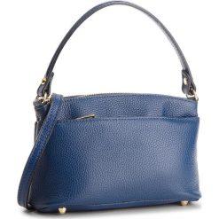 Torebka CREOLE - K10495  Granat. Niebieskie torebki klasyczne damskie Creole, ze skóry. W wyprzedaży za 149,00 zł.