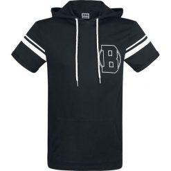 Batman Logo T-Shirt czarny. Czerwone t-shirty męskie z nadrukiem marki Cropp, l, z kapturem. Za 74,90 zł.