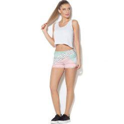 Colour Pleasure Spodnie damskie CP-020 27 miętowo-różowe r. M/L. Fioletowe spodnie sportowe damskie marki Colour pleasure, uniwersalny. Za 72,34 zł.