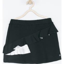 Spódnica. Czarne spódniczki dziewczęce z falbankami BE HAPPY, z bawełny. Za 59,90 zł.
