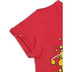 Nativo - Top dziecięcy 104-164 cm. Niebieskie bluzki dziewczęce marki DOMYOS, z elastanu, street, z okrągłym kołnierzem. W wyprzedaży za 29,90 zł.