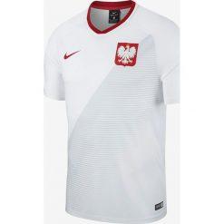Koszulki do piłki nożnej męskie: Nike Koszulka męska Reprezentacji Polski FTBL Top SS Home  biała r. XXL (893891 100)