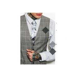 Krawaty męskie: krawat marthu GRAY PIXEL