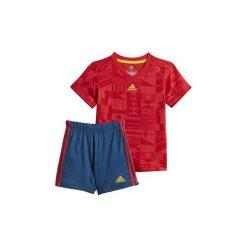 Spodnie dresowe dziewczęce: Zestawy dresowe adidas  Zestaw Football Summer