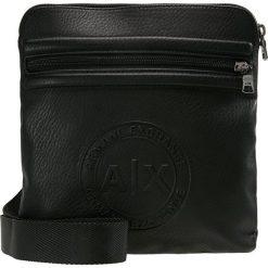 Armani Exchange Torba na ramię nero. Czarne torby na ramię męskie marki Armani Exchange, l, z materiału, z kapturem. Za 359,00 zł.