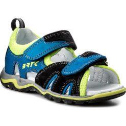 Sandały chłopięce: Sandały BARTEK – 16187-3/48 Czarno Niebieski