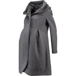 Płaszcze damskie pastelowe: mint&berry mom Płaszcz wełniany /Płaszcz klasyczny grey