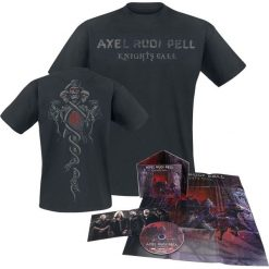 T-shirty męskie: Axel Rudi Pell Knights call CD + T-Shirt standard