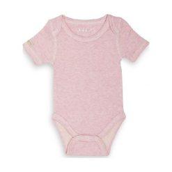 Body Pink Fleck 6-12 m. Szare body niemowlęce marki Reebok, l, z dzianiny, z okrągłym kołnierzem. Za 36,67 zł.