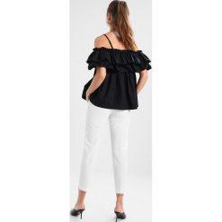 Bluzki asymetryczne: Navy London CARMEN Bluzka black