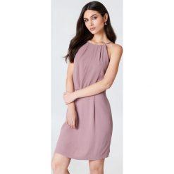 Samsoe & Samsoe Krótka sukienka Willow - Pink. Różowe sukienki koronkowe Samsøe & Samsøe, w koronkowe wzory, z krótkim rękawem, mini. Za 242,95 zł.