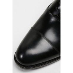 Buty wizytowe męskie: Barker WINSFORD Eleganckie buty black