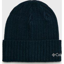 Columbia - Czapka. Czarne czapki męskie Columbia, z dzianiny. W wyprzedaży za 59,90 zł.