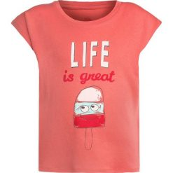 T-shirty damskie: La Queue du Chat GIRL  Tshirt z nadrukiem coral