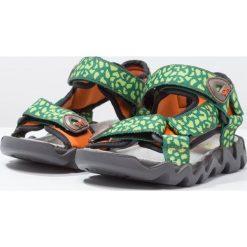 Lurchi OLLY Sandały trekkingowe green. Czarne sandały męskie skórzane marki Lurchi. W wyprzedaży za 146,30 zł.