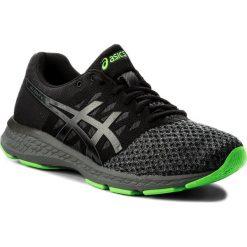 Buty ASICS - Gel-Exalt 4 T7E0N Black/Carbon/Green Gecko 9097. Czarne buty do biegania męskie marki Asics, z materiału. W wyprzedaży za 259,00 zł.