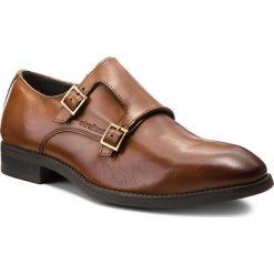 Półbuty STRELLSON - New Harley 4010002414 Cognac 703. Brązowe buty wizytowe męskie Strellson, z materiału. W wyprzedaży za 359,00 zł.