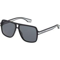 Marc Jacobs Okulary przeciwsłoneczne black/white. Czarne okulary przeciwsłoneczne damskie aviatory Marc Jacobs. Za 589,00 zł.