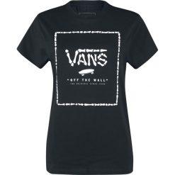 Vans Print Box T-Shirt czarny/biały. Białe t-shirty damskie Vans, l, z nadrukiem, z okrągłym kołnierzem. Za 79,90 zł.