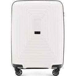 d0a7ec94b0b5b Walizka kabinowa 56-3T-781-00. Białe walizki Wittchen, bez wzorów