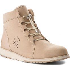 Botki EMU AUSTRALIA - Lana W11701 Cuban Sand. Brązowe buty zimowe damskie EMU Australia, z materiału. W wyprzedaży za 329,00 zł.